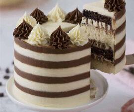 Black and White Layer cake
